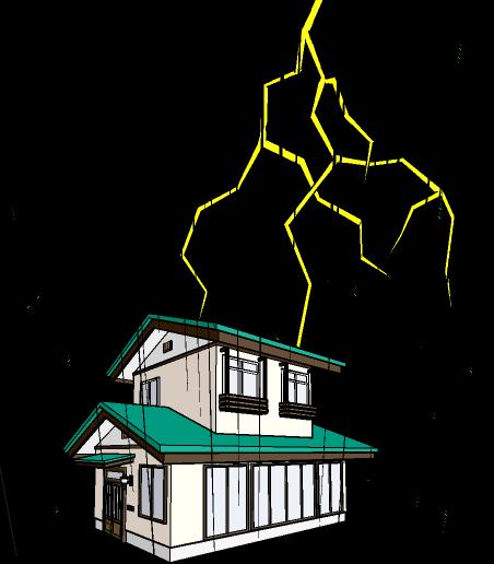 9月の初めから大雨と雷イラスト活用した 大阪お天気 季節ブログ So